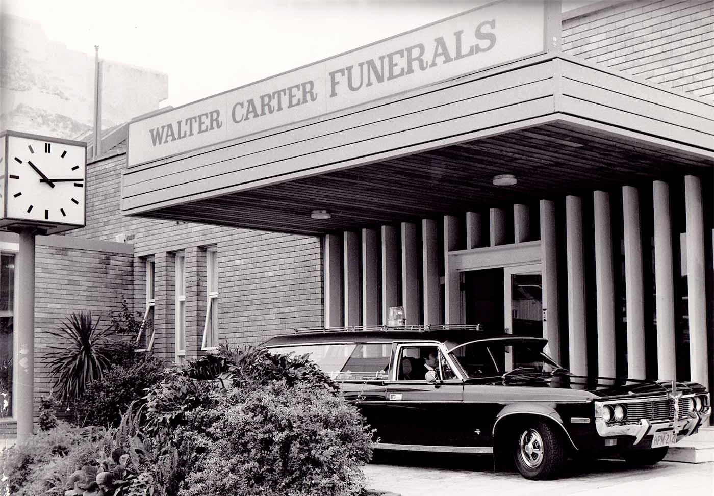 Expanded Walter Carter Funerals Premises