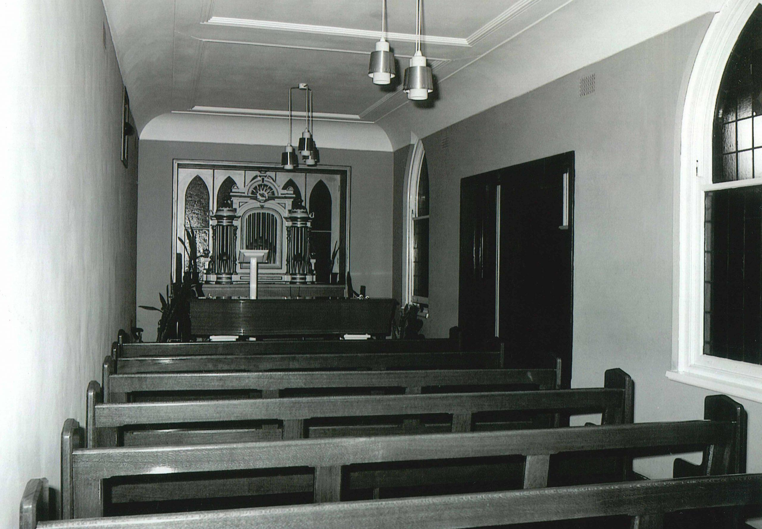 Original Walter Carter Funerals Chapel